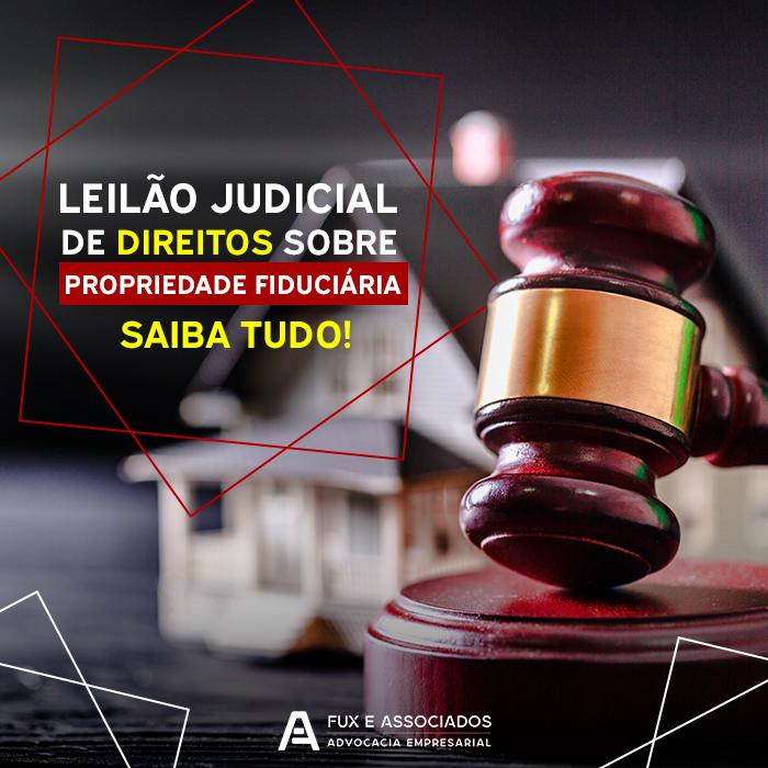 leilão judicial de direitos sobre propriedade