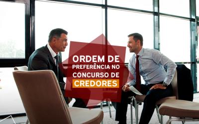 Ordem de preferências no concurso de credores